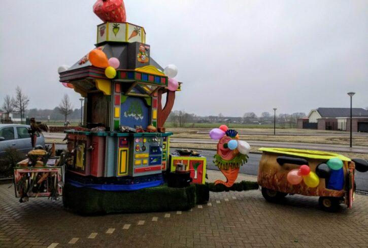 Carnavals wagen 1