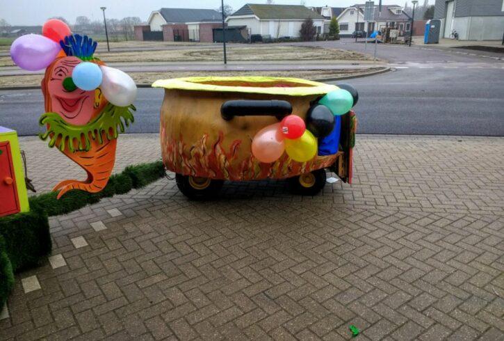 Carnavals wagen 4