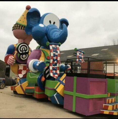 carnavalmarkt olifant 2019