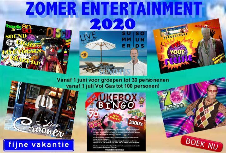FB Zomer Entertainment solo 2020